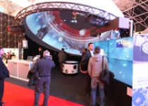 Booth for Domeprojection.com at the Integrated Systems Europe